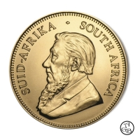 Krugerrand mixed years, 1 ons fijn goud